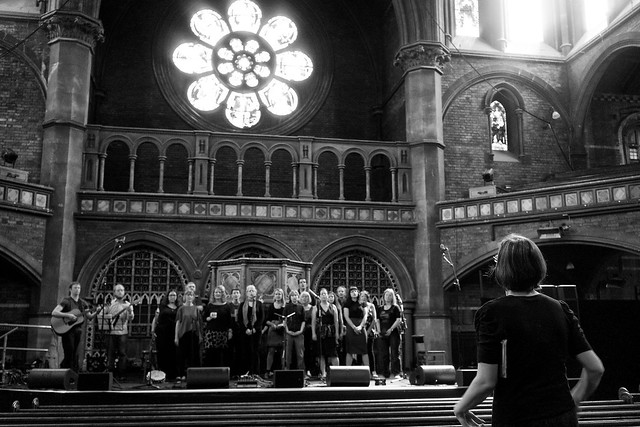 137/365 - Soundcheck - Daylight Music 17th May 2014