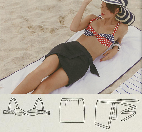 Burda May 2014 - Beach Skirt