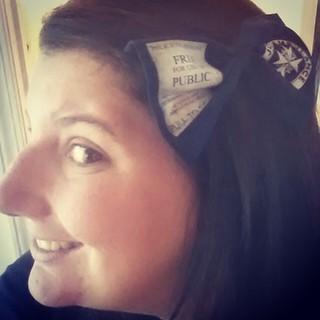 One of my bows for @DenverComicCon. #tardis