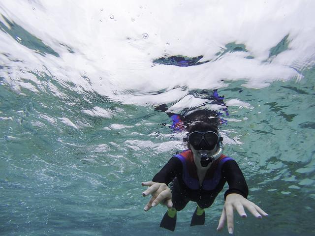 Nikki Snorkeling