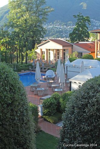 Giardino Pool und Poolhaus