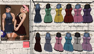 DCNY - DillyDally Polka Dot Dresses @ My Attic