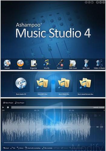 Logiciel commercial gratuit Ashampoo Music Studio 4 Fr 2014 Licence gratuite Créer, éditer, concevoir et produire votre musique dans 100 Gratuit 14245995025_b8b82c8947