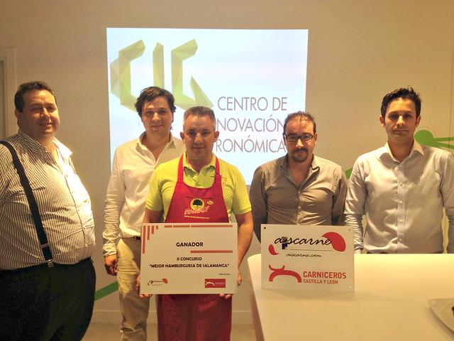 Carnicería Rasán, ganadora del II Concurso Mejor Hamburguesa de Salamanca