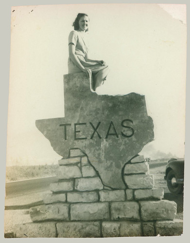 Woman on Texas