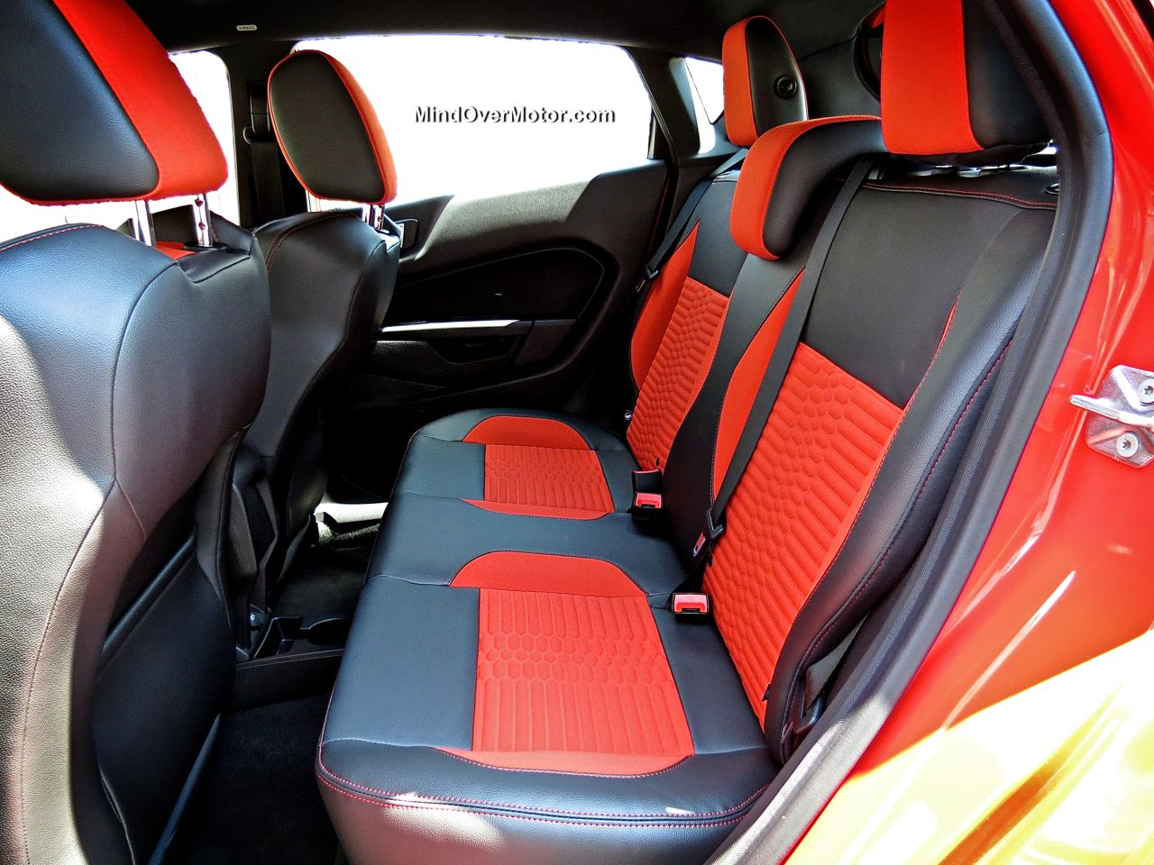 Ford Fiesta ST Back Seat
