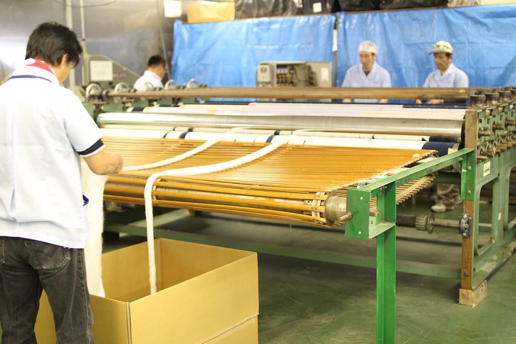 丸三綿業工場見学12