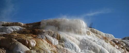 Mammoth Hot Spring Terrace - Yellowstone NP