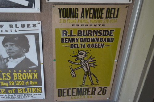 Young Avenue Deli R. L. Burnside Poster034