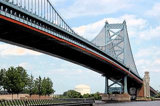 Across the Bridge at Last