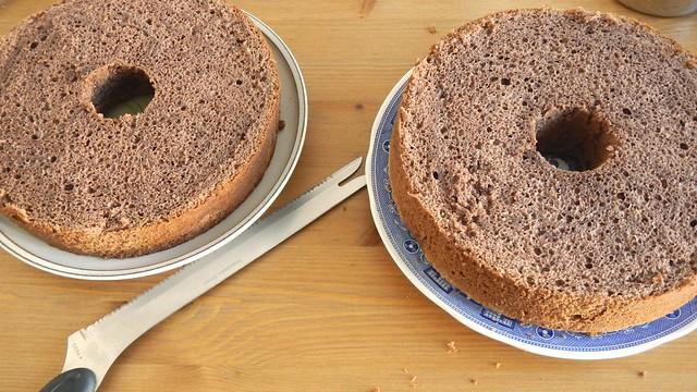 Chocolate Chiffon Cake 18