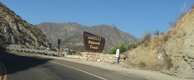 Angeles Crest Highway, La Canada Flintridge, California