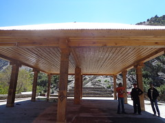 outdoor structure, wood, roof, pergola, pavilion, gazebo,