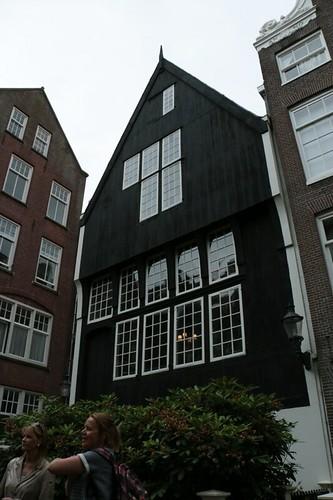 """Begijnhof: la casa più antica (""""Het Houten Huis"""")"""
