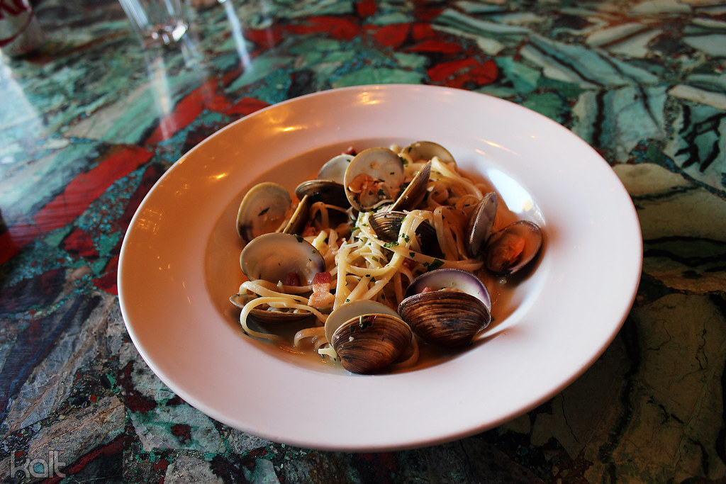 Mussels and Fettuccine