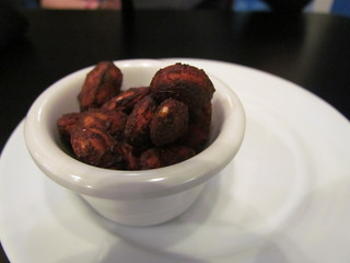 Teriyaki Almonds at Greens & Vines