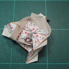 วิธีการพับลูกบอลกระดาษญี่ปุ่นแบบโคลเวอร์ (Clover Kusudama)016