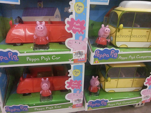 Peppa Pig toys at Toys R Us Trinoma