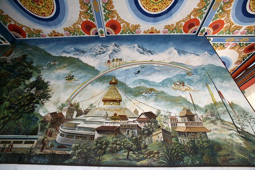 asia nepal lumbini indianborder town rural countryside buddha birthplaceofbuddha religion religious ancient history historical trees prayerflags sadhu holymen holyman worshippers pilgrims nepalese indian art temple monastery textiles vibrant women woman men children livestock archaeologicalsite ruins bricks architecture cattle sari lotus waterlily blooms deities carvings paintings frescoes roadconstruction workers laborers beliefs landscapes people families waterpump eriagn ngairehart ngairelawson travel photography photojournalism flight elephant thatch cottage dwelling goats fruit flowers offerings rice lentils green blue red