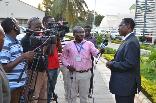 Official opening of the ILRI-Tanzania office: Interviews