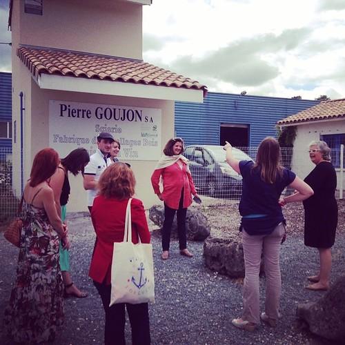 Les #cm en visite chez pierre goujon #Cavideco à Cabanac