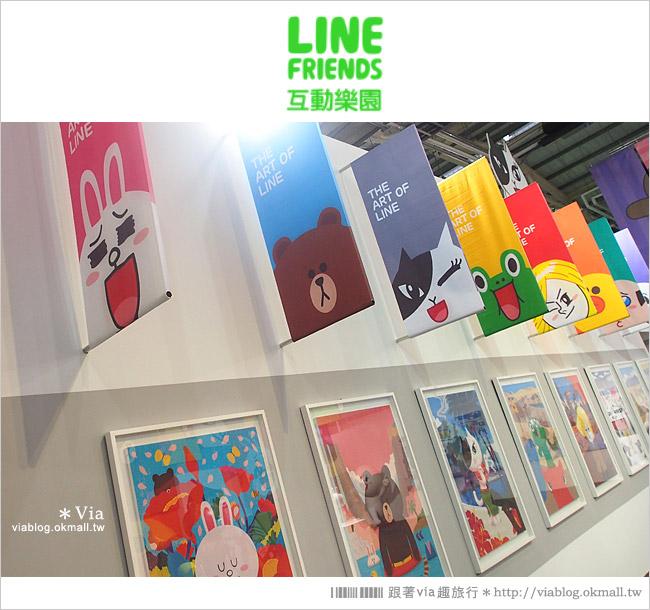 【台中line展2014】LINE台中展開幕囉!趕快來去LINE FRIENDS互動樂園玩耍去!(圖爆多)20