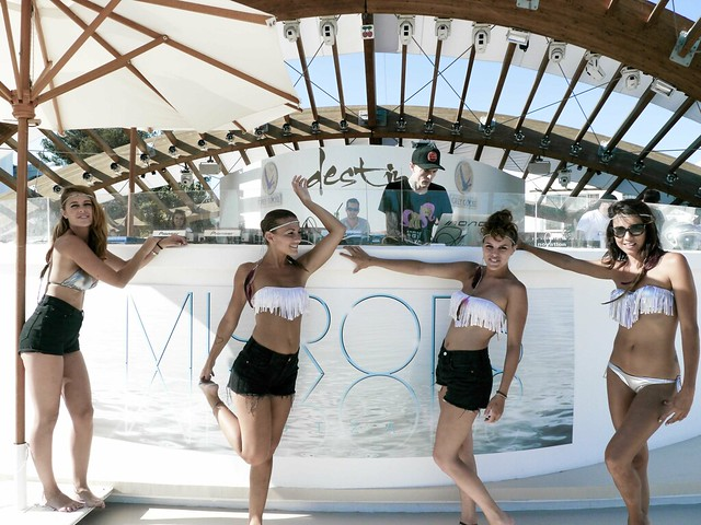 Mirrors by Andrew Dax, Ibiza event