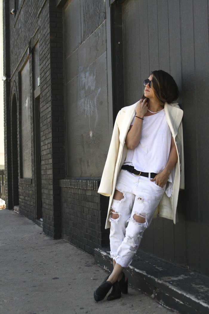 Fringe of the CRO | White Outfit for Summer and Spring