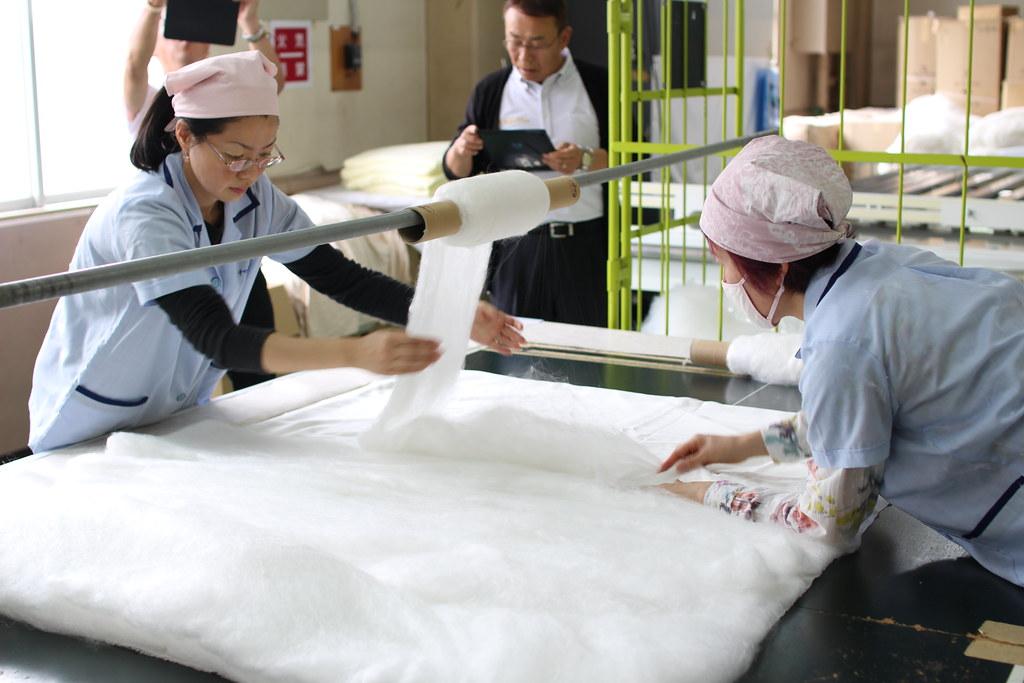 丸三綿業工場見学5