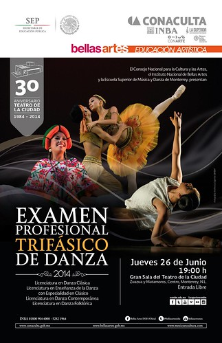 Examen Profesional de Danza | La Superior