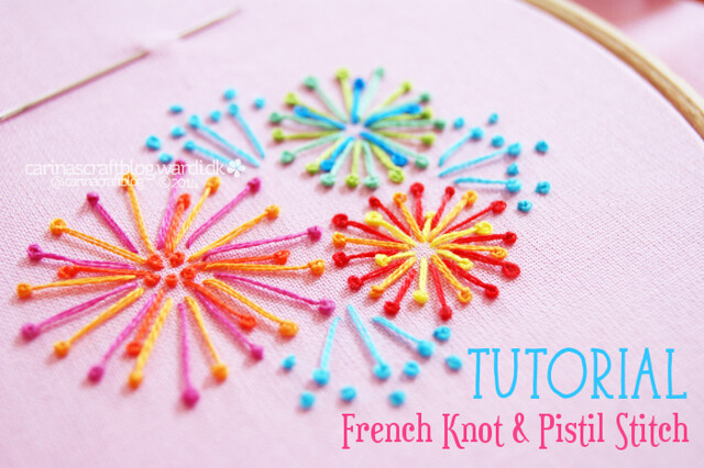 Pistil Stitch Tutorial