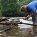 Cherokee fish harvest reenactment, June 2014