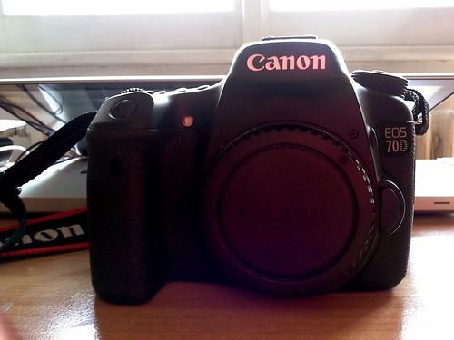 macchina fotografica Canon 70D