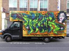 Graffiti vans