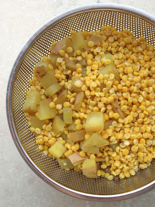 Chana Dal & Sweet Potato Chowder