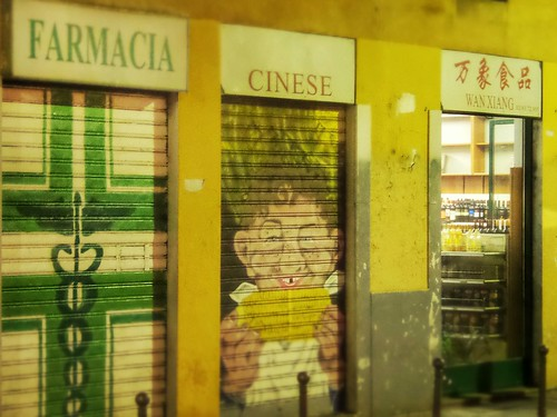 Farmacia Cinese Wang Xiang #Notte