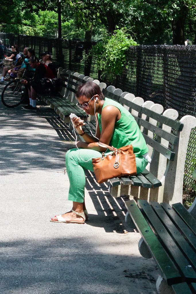 {summer street style, NYC edition} via chevrons & éclairs
