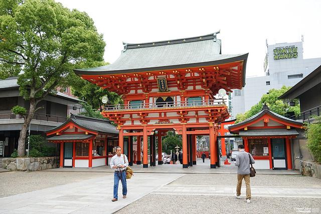 生田神社 樓門