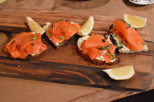Vicinity: Salmon stack