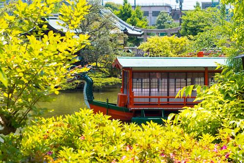 japan kyoto 京都 日本 神泉苑