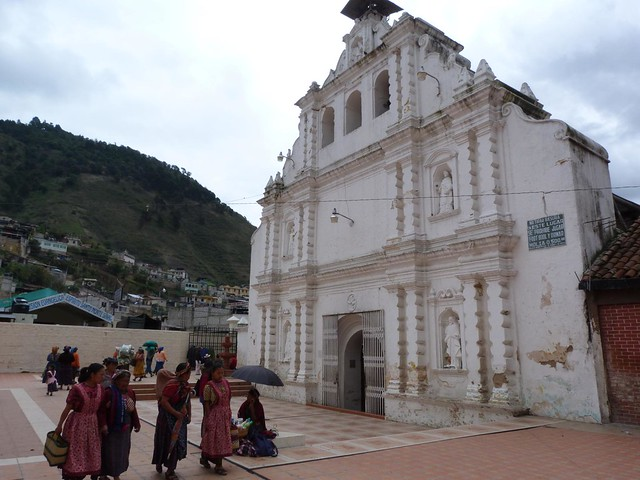 Iglesia de San Pedro en Almolonga (Quetzaltenango, Guatemala)