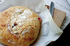 Rosemary & Cranberry Quick Bread