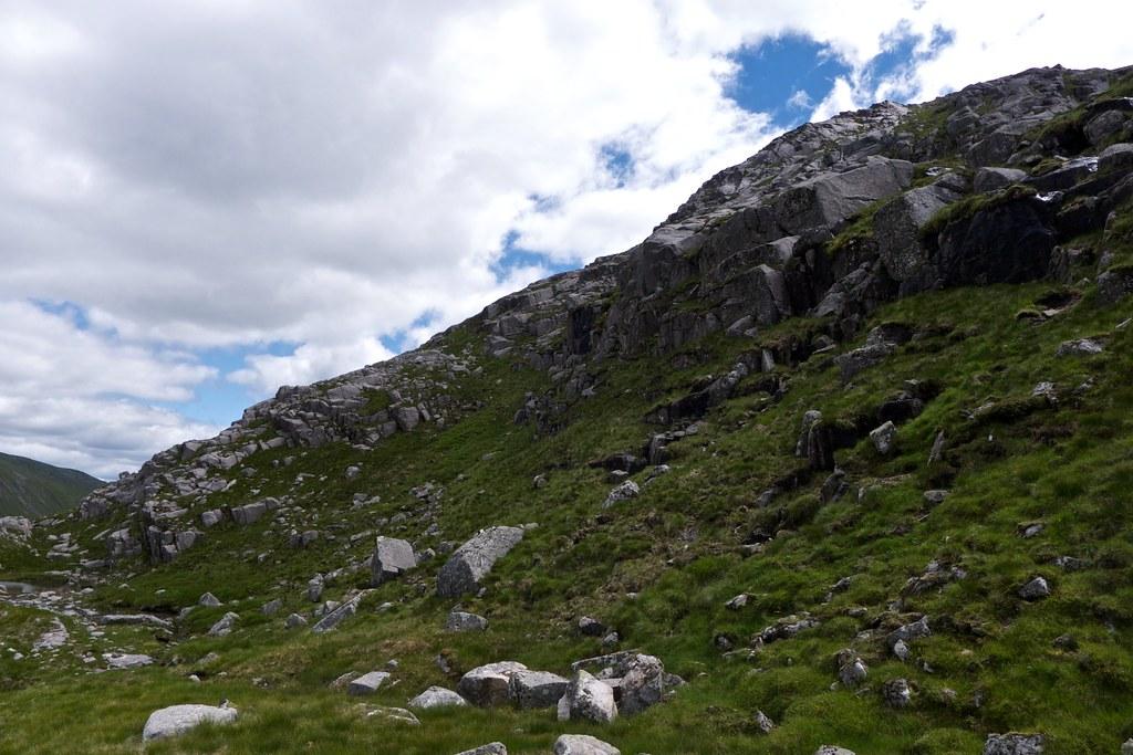 Northern slopes of Meall nan Eun