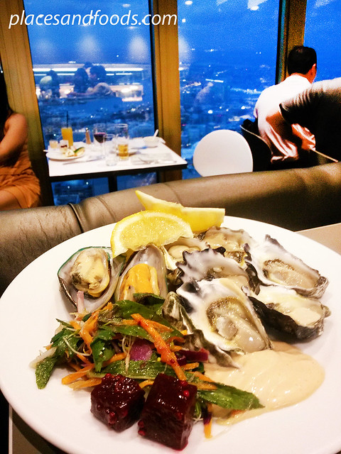 sydney tower oyster food bg