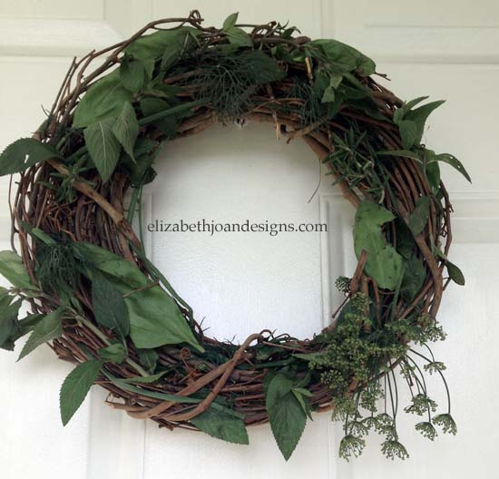 Hosta Wreath 1
