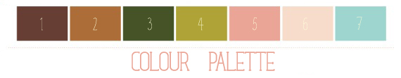blog design by alex bonetto, palette-laura