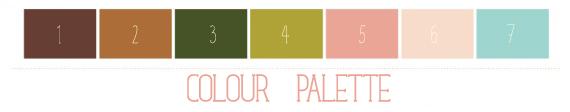 blog design by alex bonetto, palette-laura