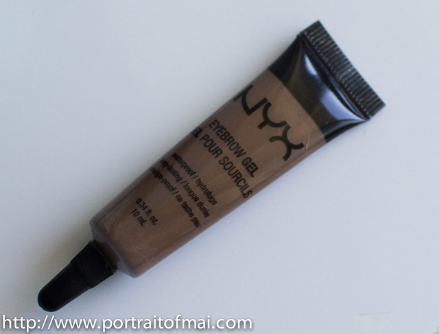 nyx eyebrow gel review (4 of 4)