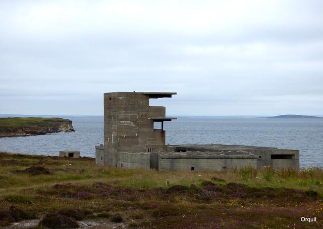 Buchanan WW2 Coastal Defence Battery