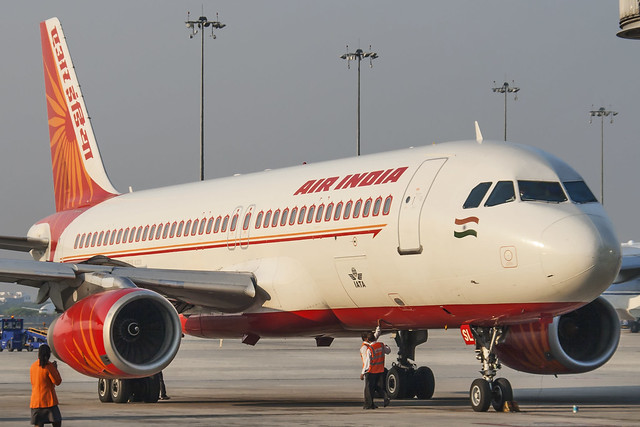 Air India A320 VT-ESL